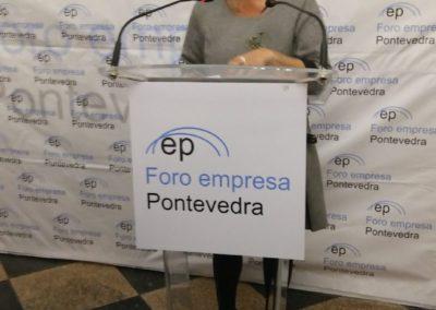 VII Foro Empresa Dña. Carmela Silva Prego