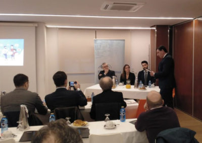Desayuno VIII. «Nuevo Programa Re-acciona: capacitando empresas, creando oportunidades»