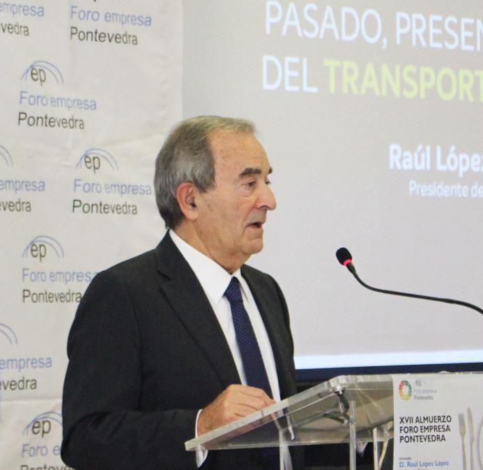 XVII Foro Empresa Pontevedra – Almuerzo con D. Raúl López, Presidente de Monbus